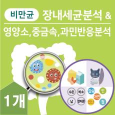 패키지B:장내세균분석&영양,중금속,    과민반응분석    [    ▼ 45%  할인    ] _____  ★대장암검사키트무료증정★