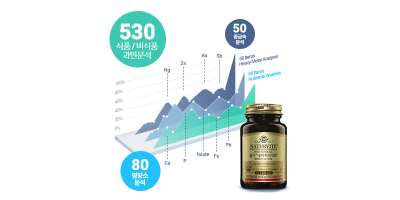 영양소/중금속/과민분석[2set]+솔가종합비타민