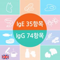 종합 알러지(IgE) & 지연성알러지(IgG)분석